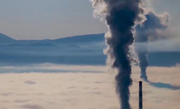 Вредные выбросы, скриншот: YouTube