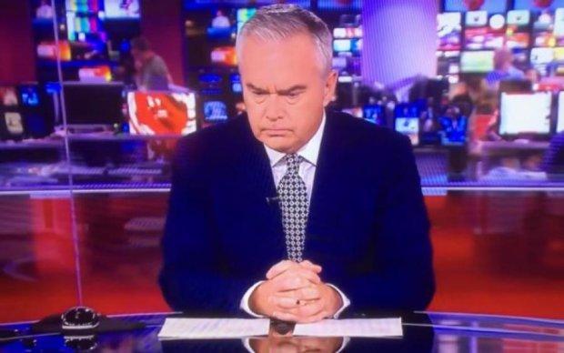 Минуты молчания: ведущий новостей попал в неприятную ситуацию
