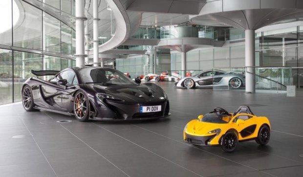McLaren випустили суперкар для наймолодших