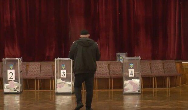Выборы в Ивано-Франковске, кадр из репортажа ТРК ВЕЖА, изображение иллюстративное: YouTube