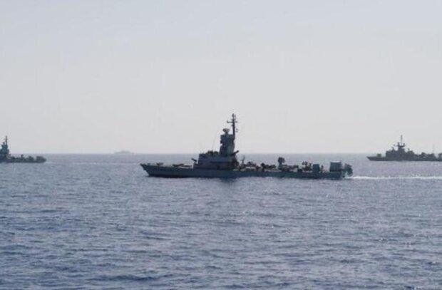 Израильские территориальные воды, фото: Israeli Navy