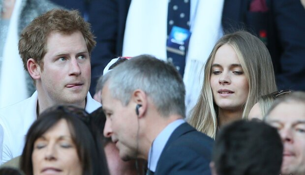 принц Гарри и Крессида Бонас, Associated Press