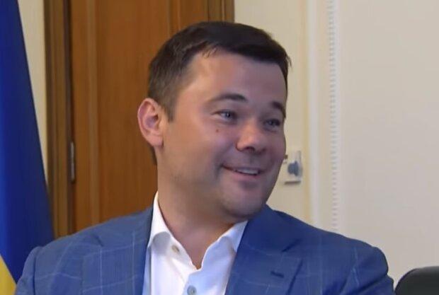 Андрій Богдан, скрін з відео