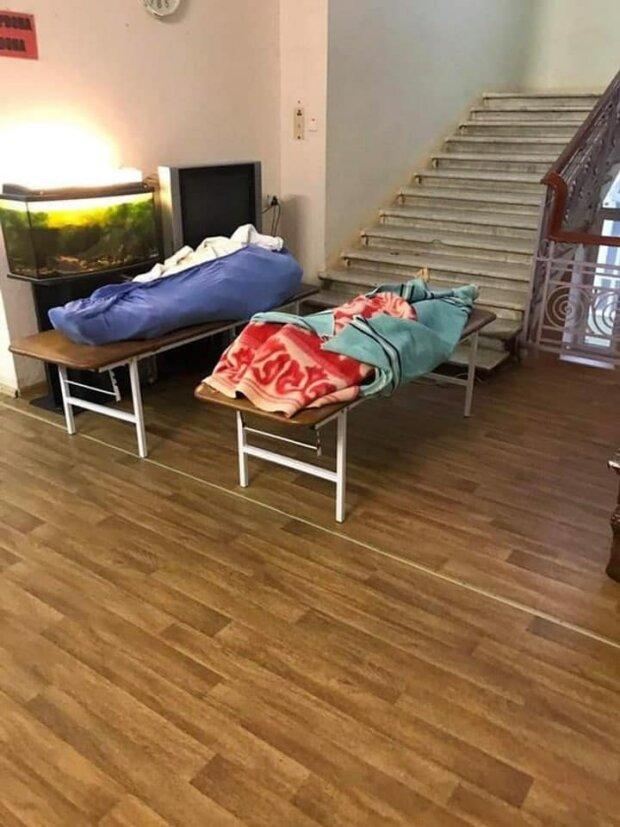Больница в Одесской области, фото: Украина в шоке