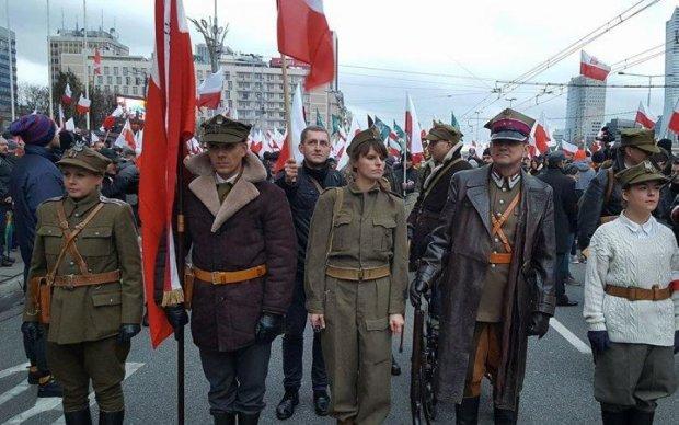 Польские нацисты посягнули на Львов