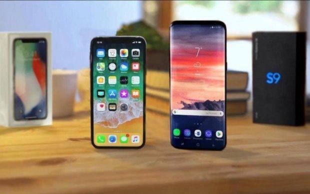 iPhone X vs Sumsung Galaxy S9+: хто переміг у сутичці титанів