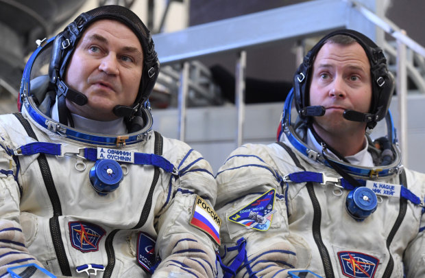 Ник Хейг и Алексей Овчинин