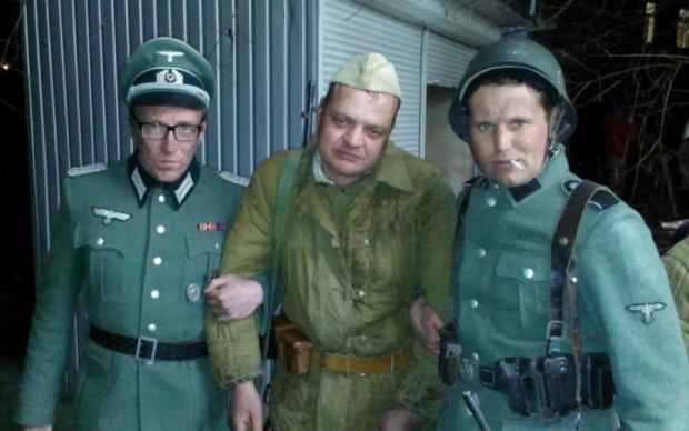 Рейхстаг перебрался в Киев: как в столице снимали военное кино