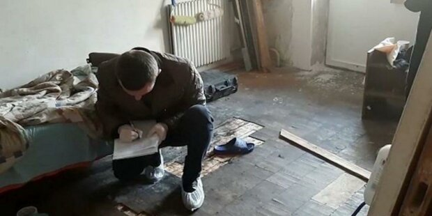 У Києві брат забив до смерті рідну сестру: позбувся доказів і втік, фото з місця події