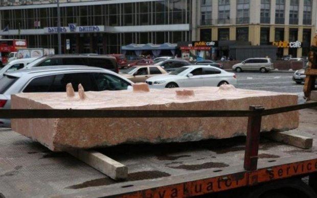 У Києві знайшли зниклу скульптуру часів Майдану