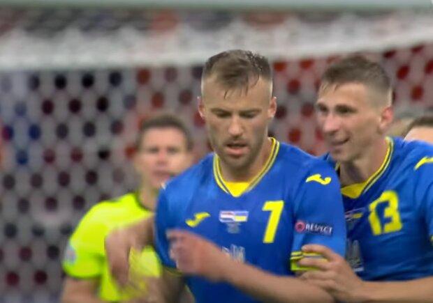 Андрій Ярмоленко, кадр з матчу