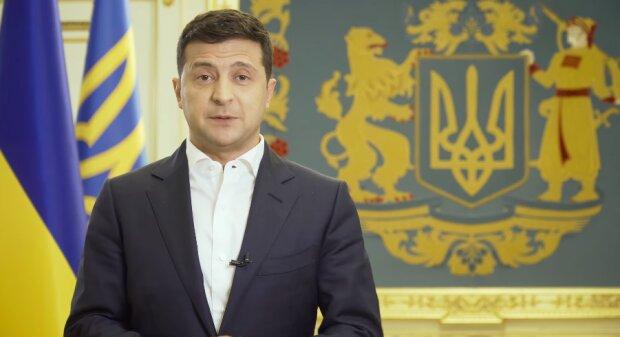 Владимир Зеленский скриншот из видеообращения