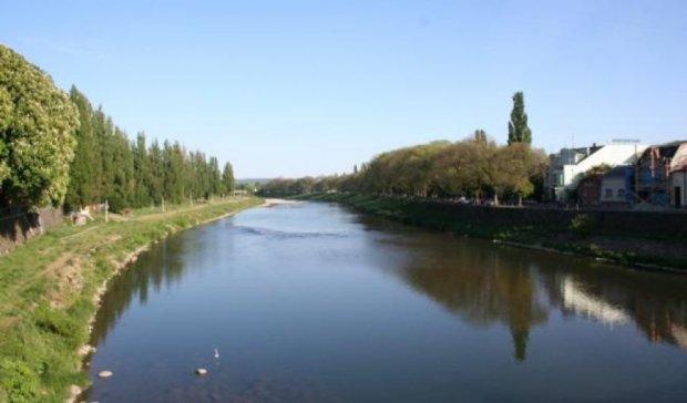 В Закарпатской области нефтепродукты загрязнили реку Уж