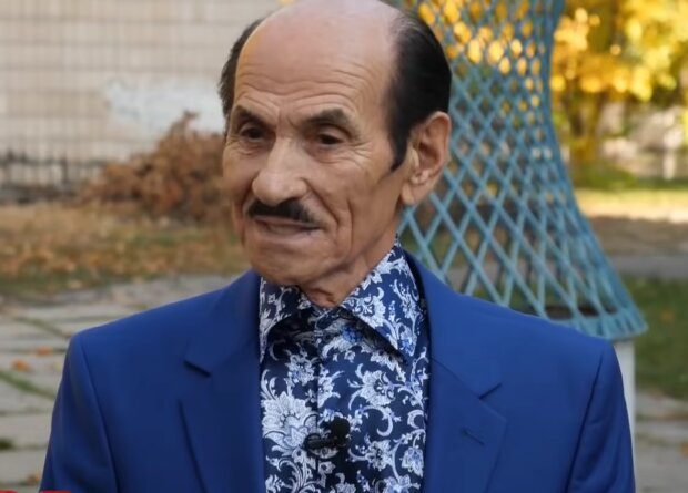 Григорий Чапкис, скриншот из видео