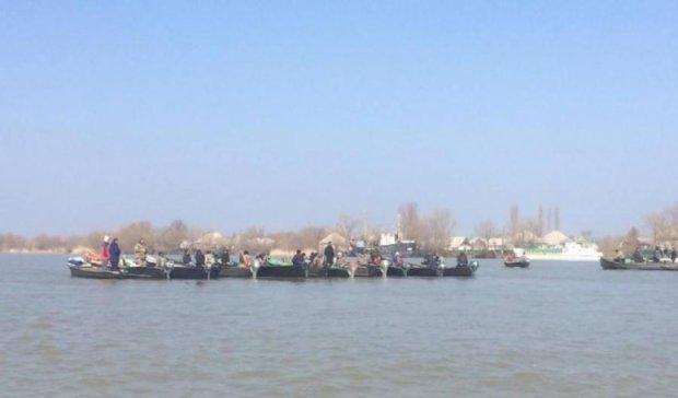В Одессе началась селедочная блокада