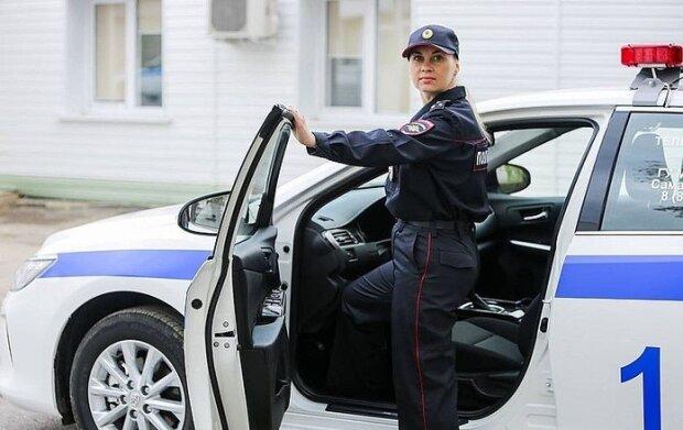 Российская полицейская, фото из свободных источников
