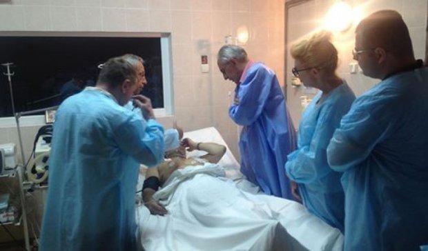 Днепропетровские врачи спасли бойца АТО с пробитым сердцем
