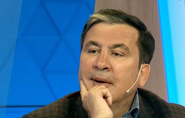 Михеил Саакашвили, скриншот: YouTube