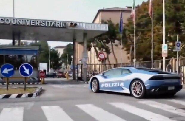 Поліцейським видали Lamborghini: від гоночного авто на швидкості 230 км/год не сховається ніхто