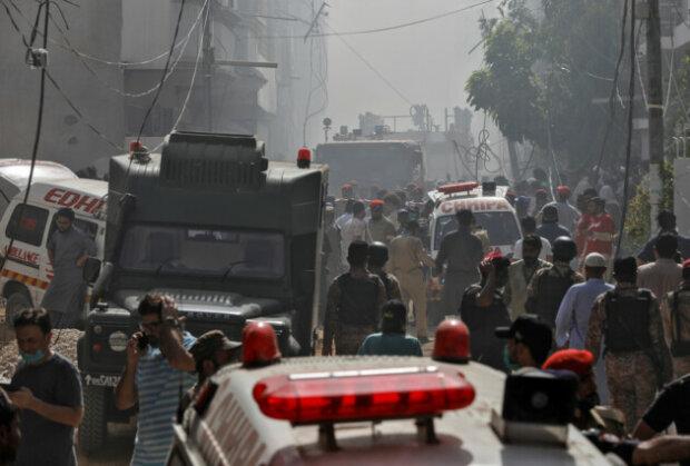 авіакатастрофа в Пакистані, фото Sky News