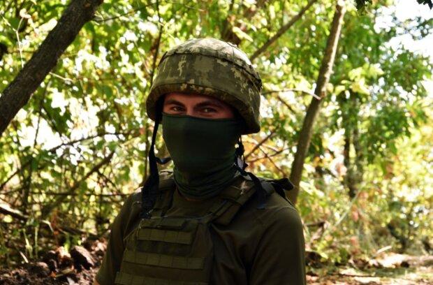 Военнослужащий Николай, фото: facebook.com/pressjfo.news