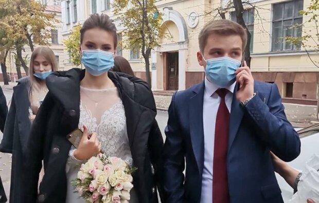 Карантинная свадьба // Іnstagram