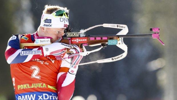 Кубок мира по биатлону: победа норвежца Бе и идеальная стрельба украинцев