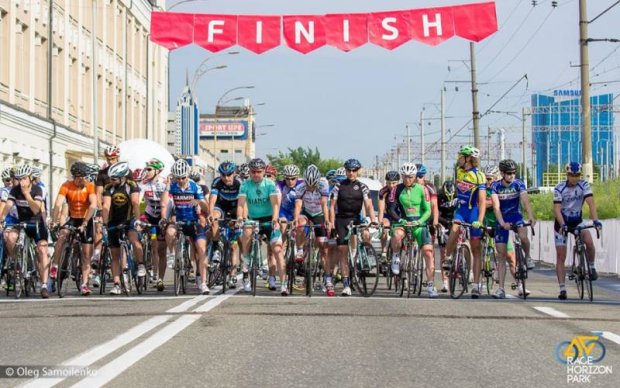 В рамках Race Horizon Park в Києві пройде гонка для велолюбителів
