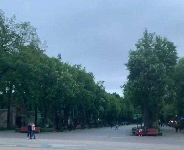 Визитка Харькова превратилась в пустыню - карантин сожрал все запасы, покупателей нет