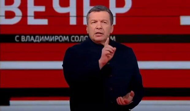 Володимир Соловйов, скріншот: YouTube