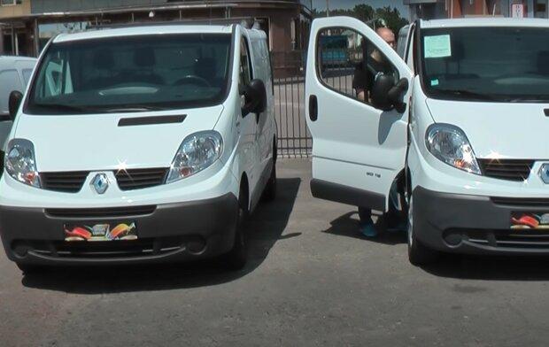 Renault Trafic, скріншот з відео