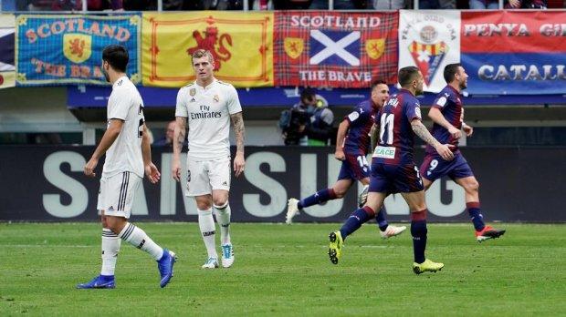 Скромна команда втерла носа Реалу з новим головним тренером
