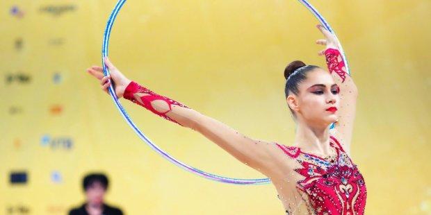 Украинская гимнастка Никольченко завоевала медаль на Кубке мира