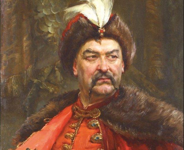 портрет Богдана Хмельницбкого
