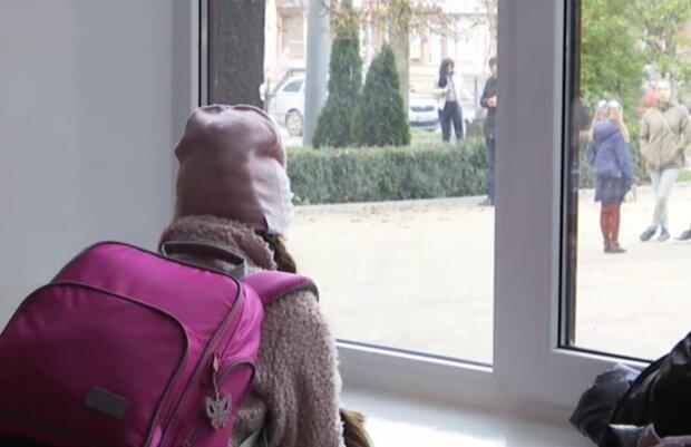 Карантин в школах, фото: кадр из видео