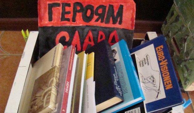 Ветеранів АТО лікують книгами
