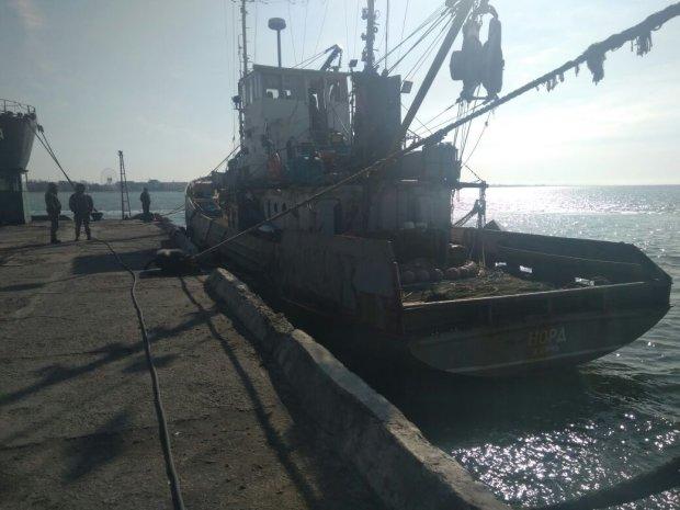 "Україна виставила на продаж заарештоване судно ""Норд"""