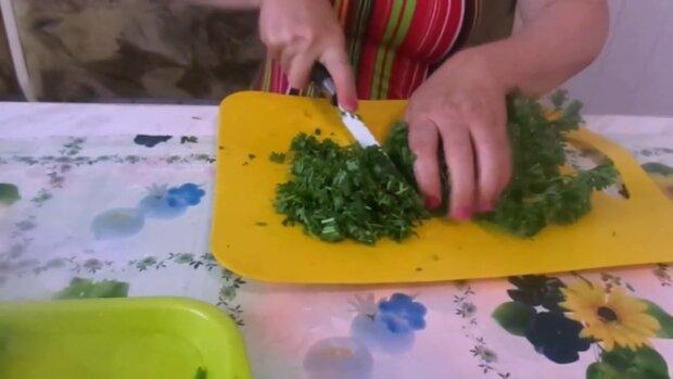 Зелень, скріншот із відео