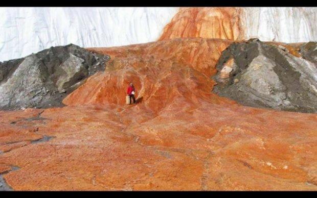 Розкрита вікова таємниця Кривавого водоспаду
