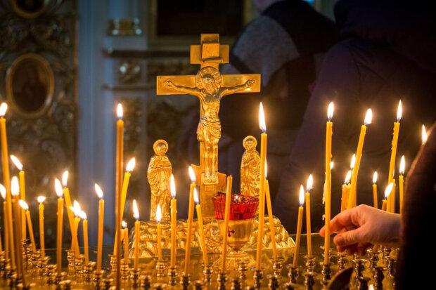 церква, свічки, хрест
