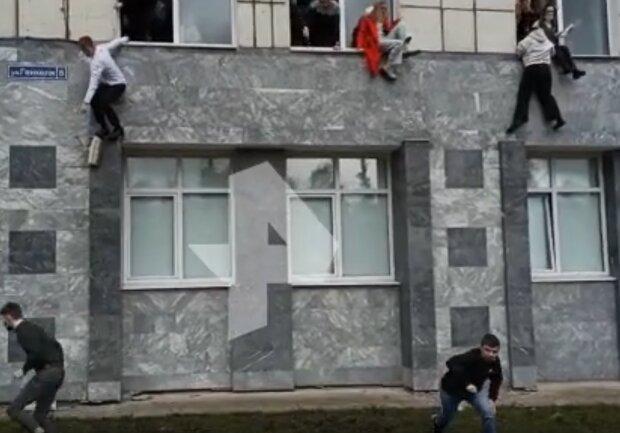 Скрин, видео YouTube стрельба в Перми