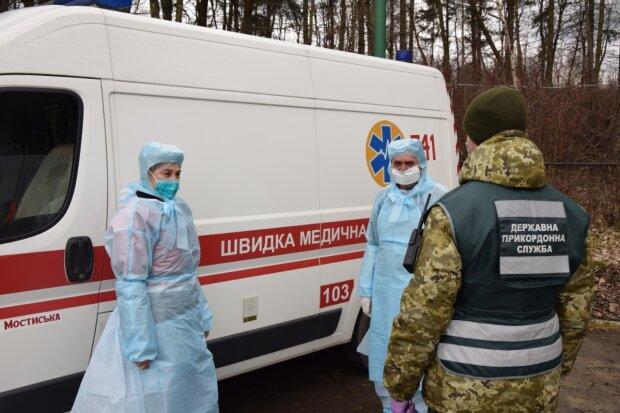 коронавирус в Украине, фото с Facebook