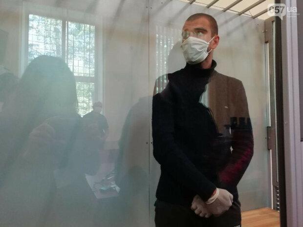 подозреваемый Дмитрий Беливец, скрин с видео