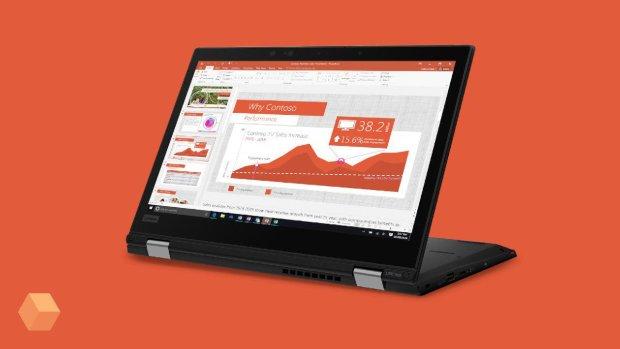Lenovo показала защищенный ноутбук-трансформер для бизнеса