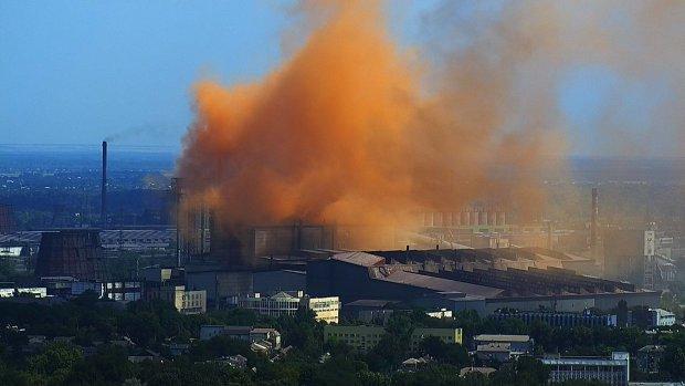 Днiпропетровщину заполонив густий дим: люди у панiцi, нагадує Чорнобиль