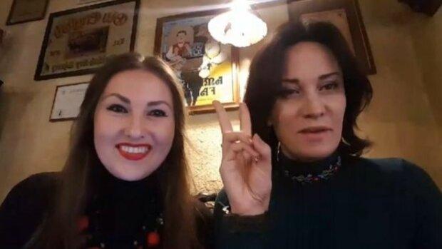 Скриншот Федины с видео, где она угрожала Зеленскому