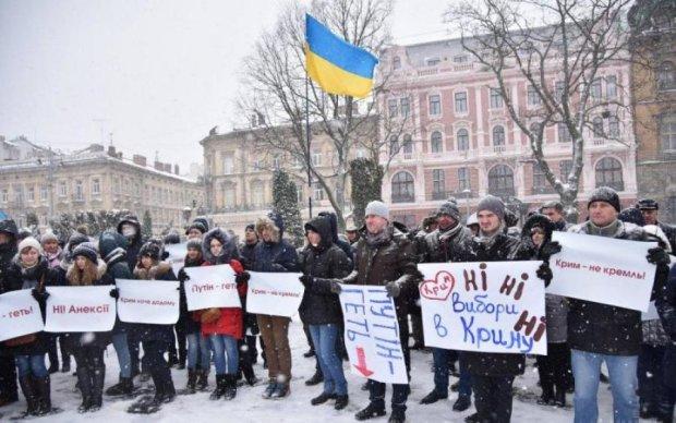 Скільки росіян змогли проголосувати за Путіна на території України