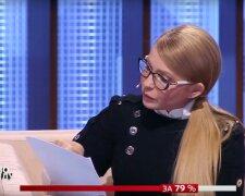 """Юлія Тимошенко в програмі """"Право на владу"""""""