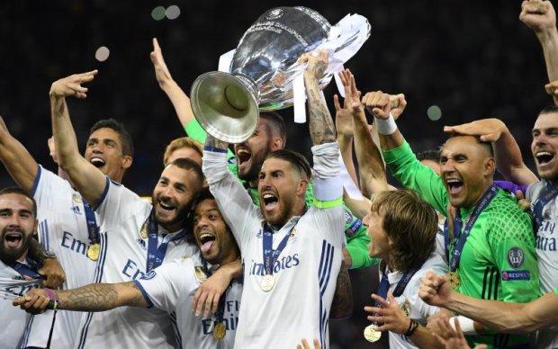 Реал - переможець Ліги чемпіонів: Фото церемонії нагородження