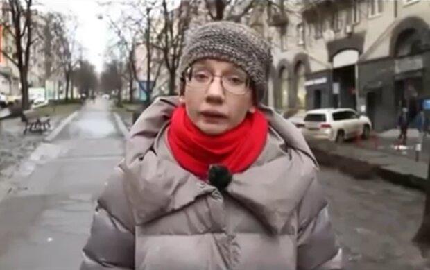 Евгения Бильченко, кадр из видео